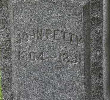 PETTY, JOHN - Lorain County, Ohio   JOHN PETTY - Ohio Gravestone Photos