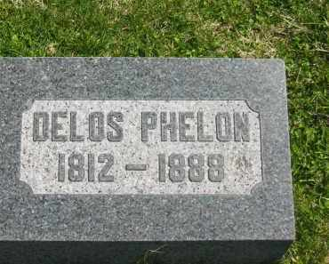 PHELON, DELOS - Lorain County, Ohio | DELOS PHELON - Ohio Gravestone Photos