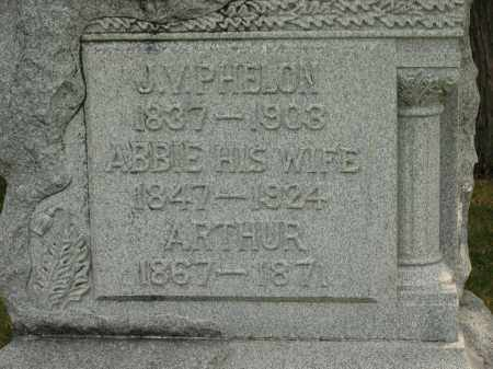 PHELON, ARTHUR - Lorain County, Ohio   ARTHUR PHELON - Ohio Gravestone Photos