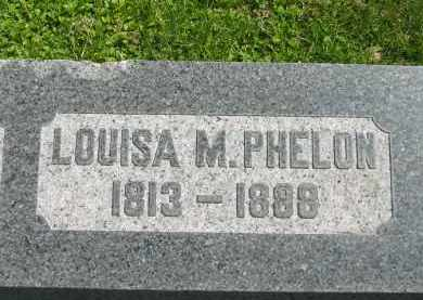 PHELON, LOUISA M. - Lorain County, Ohio | LOUISA M. PHELON - Ohio Gravestone Photos