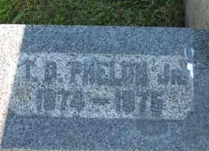 PHELON, T. D. JR. - Lorain County, Ohio | T. D. JR. PHELON - Ohio Gravestone Photos