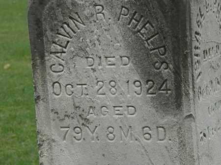 PHELPS, CALVIN R. - Lorain County, Ohio   CALVIN R. PHELPS - Ohio Gravestone Photos