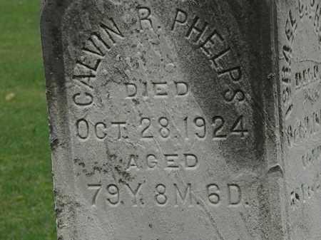 PHELPS, CALVIN R. - Lorain County, Ohio | CALVIN R. PHELPS - Ohio Gravestone Photos