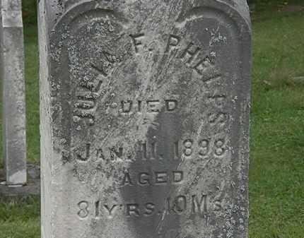 PHELPS, JULIA F. - Lorain County, Ohio | JULIA F. PHELPS - Ohio Gravestone Photos