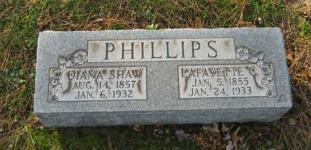 SHAW PHILLIPS, DIANA - Lorain County, Ohio | DIANA SHAW PHILLIPS - Ohio Gravestone Photos
