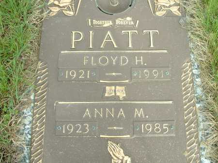 PIATT, FLOYD - Lorain County, Ohio | FLOYD PIATT - Ohio Gravestone Photos