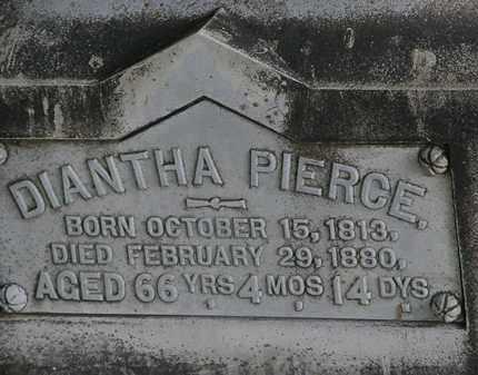 PIERCE, DIANTHA - Lorain County, Ohio | DIANTHA PIERCE - Ohio Gravestone Photos