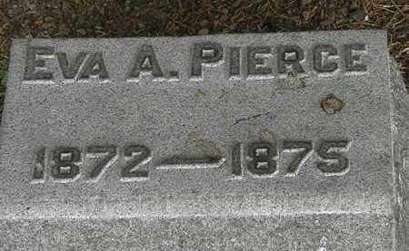 PIERCE, EVA A. - Lorain County, Ohio | EVA A. PIERCE - Ohio Gravestone Photos