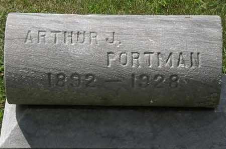 PORTMAN, ARTHUR J. - Lorain County, Ohio | ARTHUR J. PORTMAN - Ohio Gravestone Photos