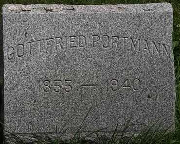 PORTMAN, GOTTFRIED - Lorain County, Ohio | GOTTFRIED PORTMAN - Ohio Gravestone Photos