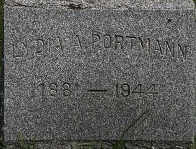 PORTMAN, LYDIA A. - Lorain County, Ohio   LYDIA A. PORTMAN - Ohio Gravestone Photos
