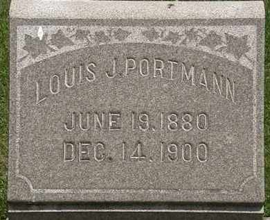 PORTMAN, LOUIS - Lorain County, Ohio   LOUIS PORTMAN - Ohio Gravestone Photos