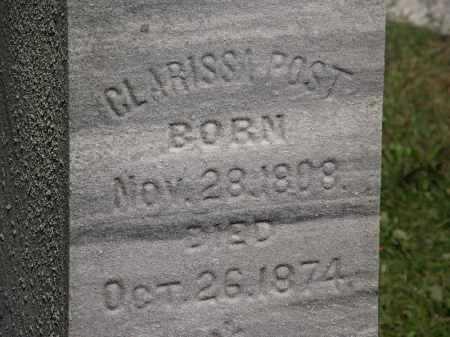 POST, CLARISSA - Lorain County, Ohio | CLARISSA POST - Ohio Gravestone Photos