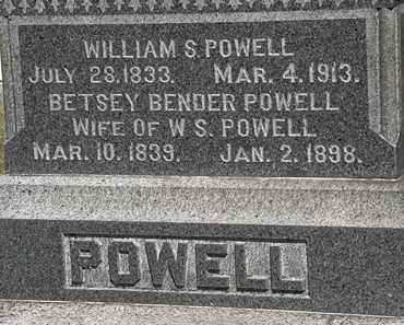 POWELL, BETSEY - Lorain County, Ohio | BETSEY POWELL - Ohio Gravestone Photos