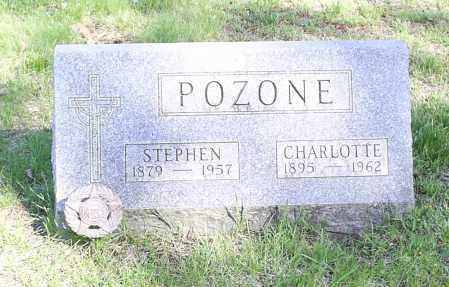POZONE, CHARLOTTE - Lorain County, Ohio | CHARLOTTE POZONE - Ohio Gravestone Photos