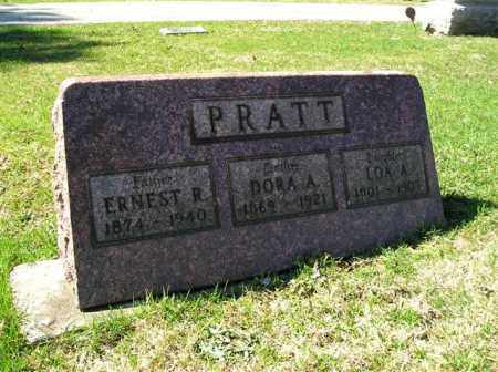 PRATT, DORA A. - Lorain County, Ohio | DORA A. PRATT - Ohio Gravestone Photos