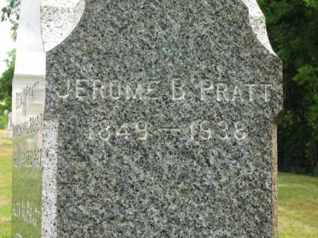 PRATT, JEROME B. - Lorain County, Ohio | JEROME B. PRATT - Ohio Gravestone Photos