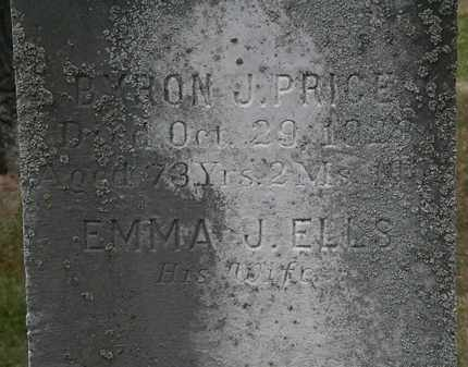 PRICE, BYRON J. - Lorain County, Ohio | BYRON J. PRICE - Ohio Gravestone Photos