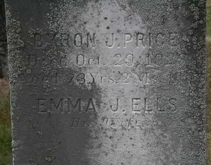 ELLS PRICE, EMMA J. - Lorain County, Ohio | EMMA J. ELLS PRICE - Ohio Gravestone Photos