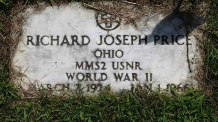 PRICE, RICHARD JOSEPH - Lorain County, Ohio | RICHARD JOSEPH PRICE - Ohio Gravestone Photos
