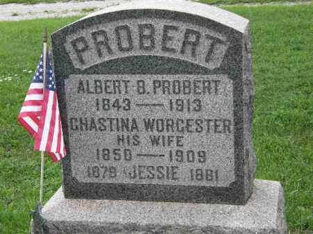 PROBERT, ALBERT B. - Lorain County, Ohio | ALBERT B. PROBERT - Ohio Gravestone Photos