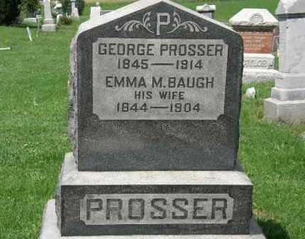 BAUGH PROSSER, EMMA M. - Lorain County, Ohio | EMMA M. BAUGH PROSSER - Ohio Gravestone Photos