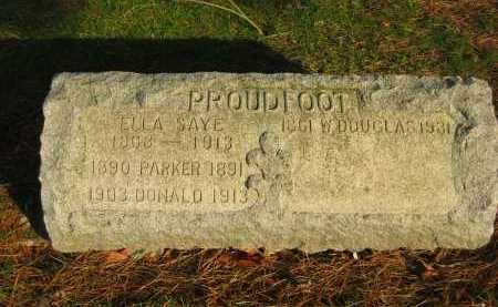 PROUDFOOT, DONALD - Lorain County, Ohio | DONALD PROUDFOOT - Ohio Gravestone Photos