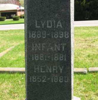 RAHL, HENRY - Lorain County, Ohio | HENRY RAHL - Ohio Gravestone Photos