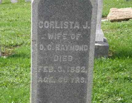 RAYMOND, CORLISTA J. - Lorain County, Ohio | CORLISTA J. RAYMOND - Ohio Gravestone Photos