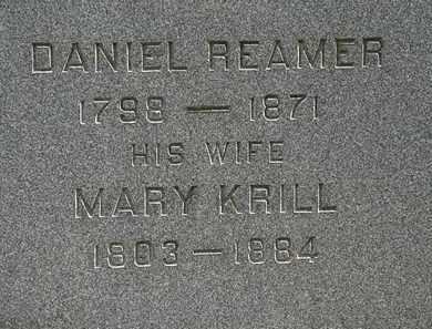 REAMER, MARY - Lorain County, Ohio   MARY REAMER - Ohio Gravestone Photos