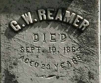 REAMER, G.W. - Lorain County, Ohio | G.W. REAMER - Ohio Gravestone Photos