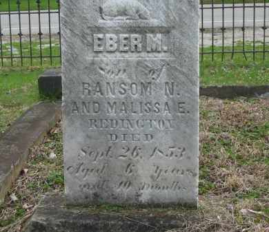 REDINGTON, EBER M. - Lorain County, Ohio | EBER M. REDINGTON - Ohio Gravestone Photos