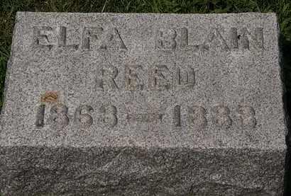 REED, ELFA BLAIN - Lorain County, Ohio | ELFA BLAIN REED - Ohio Gravestone Photos
