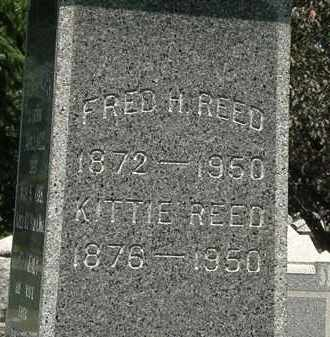REED, KITTIE - Lorain County, Ohio | KITTIE REED - Ohio Gravestone Photos