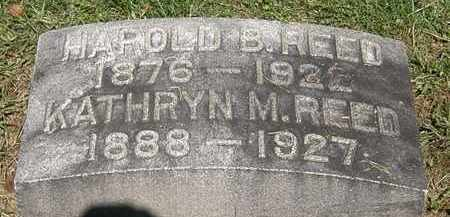 REED, HAROLD B. - Lorain County, Ohio | HAROLD B. REED - Ohio Gravestone Photos
