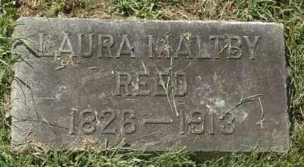 MALTBY REED, LAURA - Lorain County, Ohio   LAURA MALTBY REED - Ohio Gravestone Photos