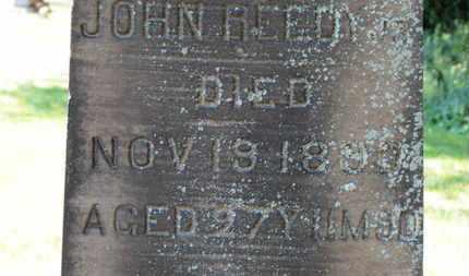 REEDY, JOHN - Lorain County, Ohio | JOHN REEDY - Ohio Gravestone Photos