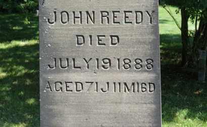 REEDY, JOHN - Lorain County, Ohio   JOHN REEDY - Ohio Gravestone Photos