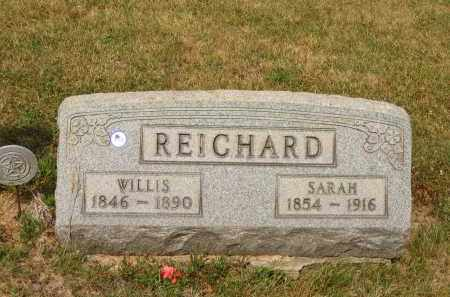 REICHARD, SARAH - Lorain County, Ohio | SARAH REICHARD - Ohio Gravestone Photos