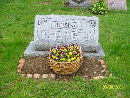 REISING, ELEANOR F. - Lorain County, Ohio | ELEANOR F. REISING - Ohio Gravestone Photos