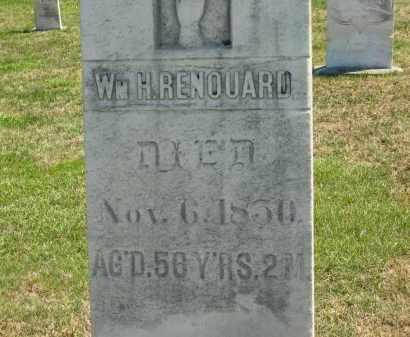 RENOUARD, WM. H. - Lorain County, Ohio   WM. H. RENOUARD - Ohio Gravestone Photos