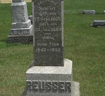 REUSSER, MARIA - Lorain County, Ohio | MARIA REUSSER - Ohio Gravestone Photos