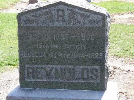 REYNOLDS, REBECCA - Lorain County, Ohio | REBECCA REYNOLDS - Ohio Gravestone Photos