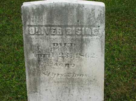 RISING, OLIVER - Lorain County, Ohio | OLIVER RISING - Ohio Gravestone Photos