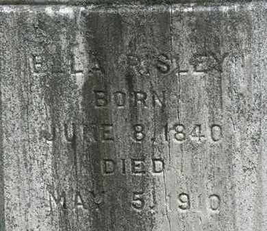 RISLEY, ELLA - Lorain County, Ohio   ELLA RISLEY - Ohio Gravestone Photos