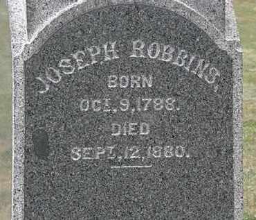 ROBBINS, JOSEPH - Lorain County, Ohio   JOSEPH ROBBINS - Ohio Gravestone Photos