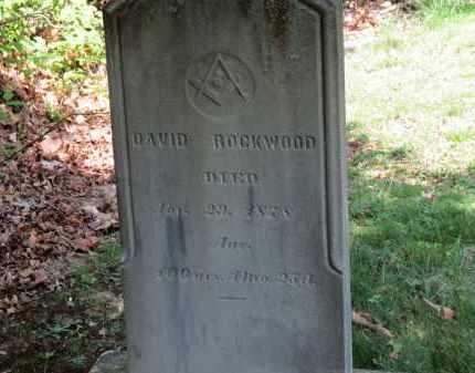 ROCKWOOD, DAVID - Lorain County, Ohio | DAVID ROCKWOOD - Ohio Gravestone Photos