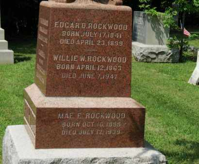 ROCKWOOD, WILLIE W. - Lorain County, Ohio | WILLIE W. ROCKWOOD - Ohio Gravestone Photos