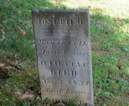 ROCKWOOD, JOSEPH O. - Lorain County, Ohio | JOSEPH O. ROCKWOOD - Ohio Gravestone Photos