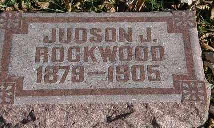 ROCKWOOD, JUDSON J. - Lorain County, Ohio | JUDSON J. ROCKWOOD - Ohio Gravestone Photos